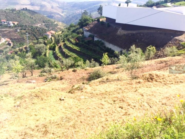 Lote de terreno com 536m² destinado à construção de uma moradia unifamiliar, situado em Tabuaço